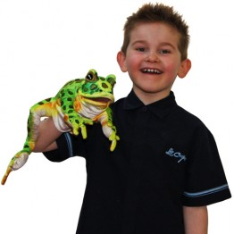Leopard Frog Hand Puppet