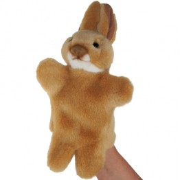 Brown Rabbit Glove Puppet