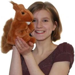 Red Squirrel Glove Puppet
