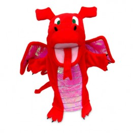 Red Dragon Hand Puppet