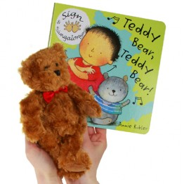 Teddy Bear, Teddy Bear Book with Finger Puppet