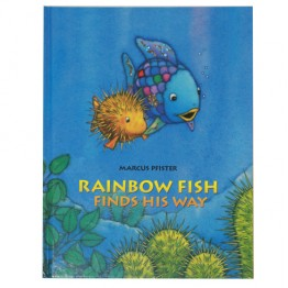 Rainbow Fish Finds His Way Hardback Book