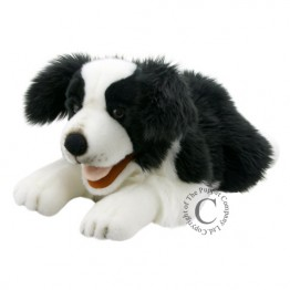 Border Collie Puppet - Full Bodied Playful Puppy