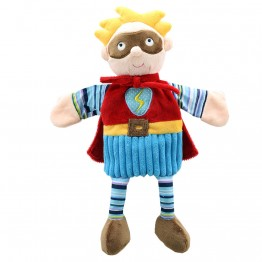 Super Hero (Blue) - Story Telling Puppets