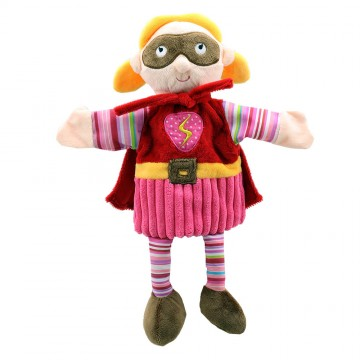 Super Hero (Pink) - Story Telling Puppets