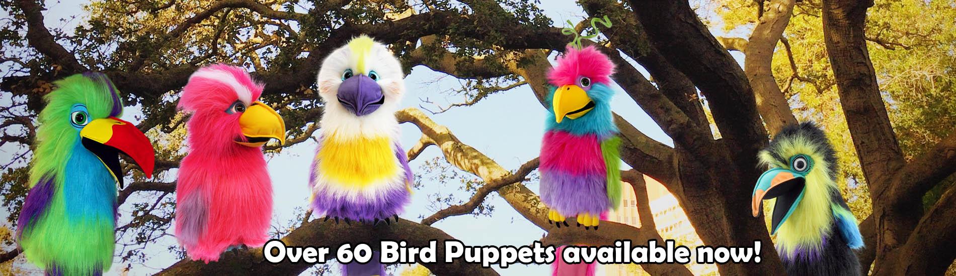 Bird-Hand-Puppets